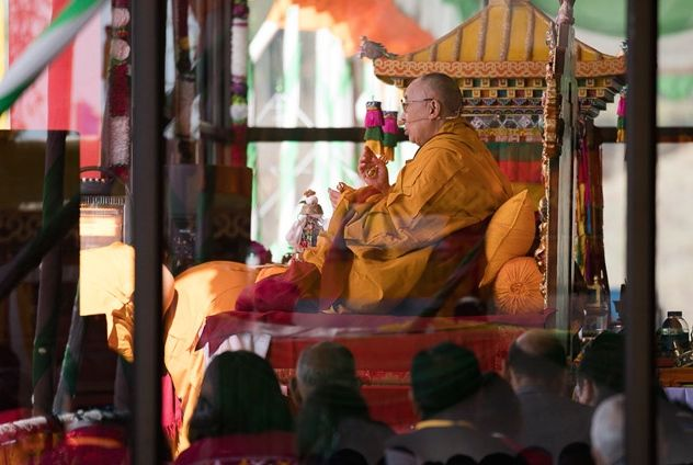 HHDL Tawang teaching