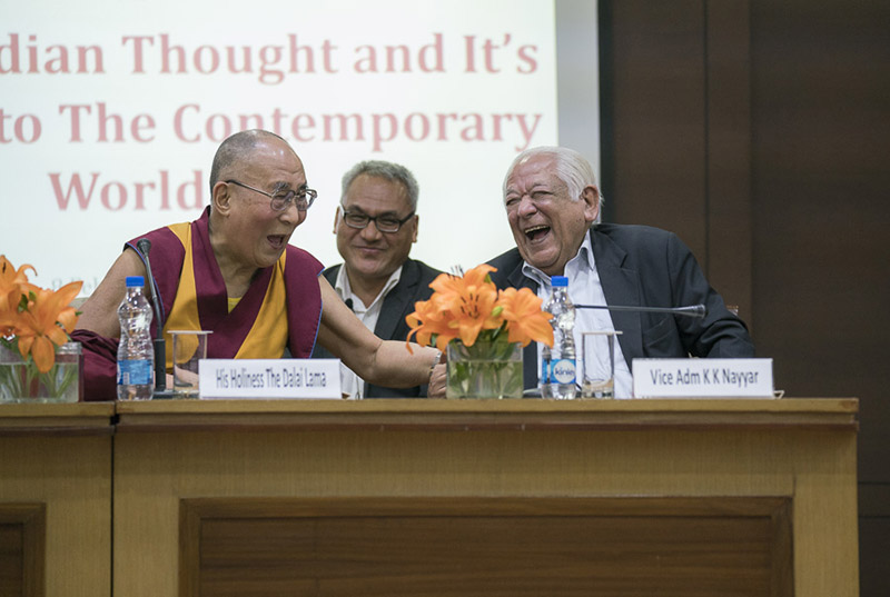 Warm-heartedness is the Key to solve a moral crisis: Leader of Tibet