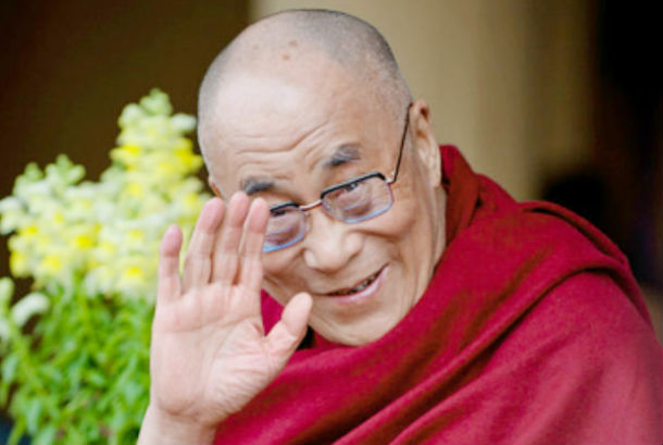 His Holiness the Dalai Lama, the spiritual leader of Tibet. Photo: TPI/Yeshe Choesang