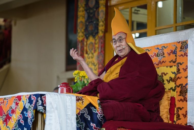 HHDL march teaching