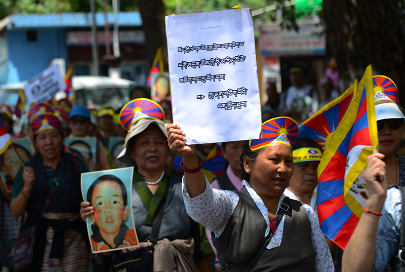 panchen lama release demands