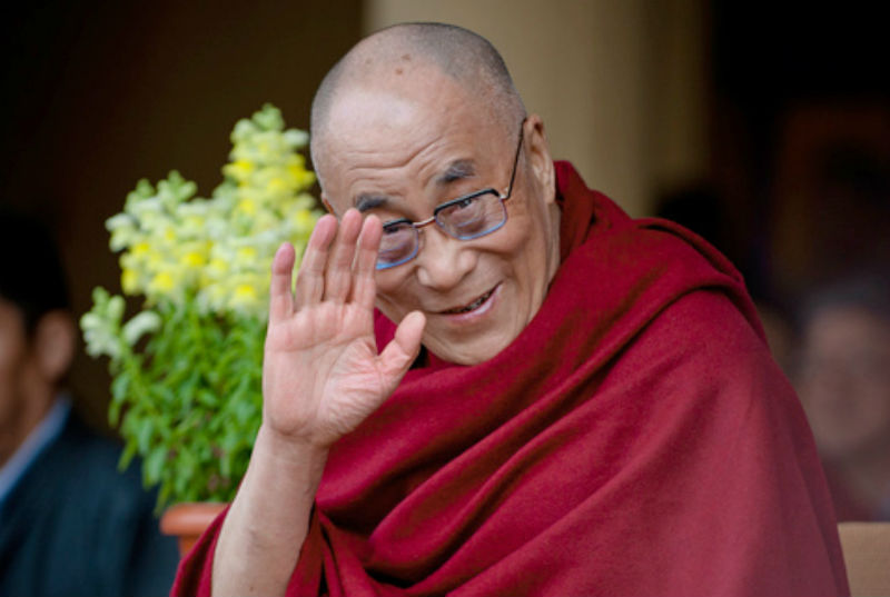 His Holiness the Dalai Lama of Tibet. Photo: TPI/Yeshe Choesang