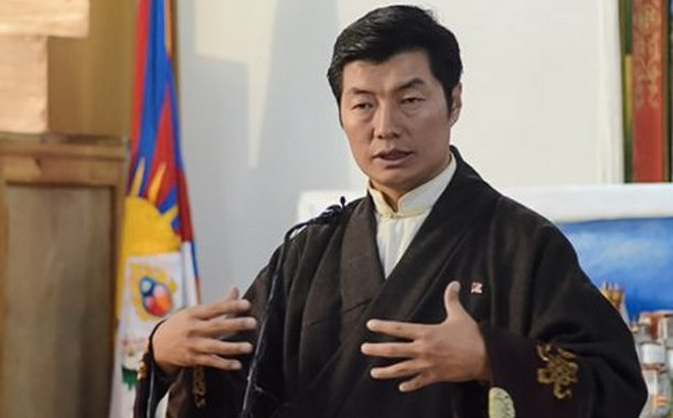 Dr Lobsang Sangay, President of Central Tibetan Administration. Photo: TPI/Yeshe Choesang