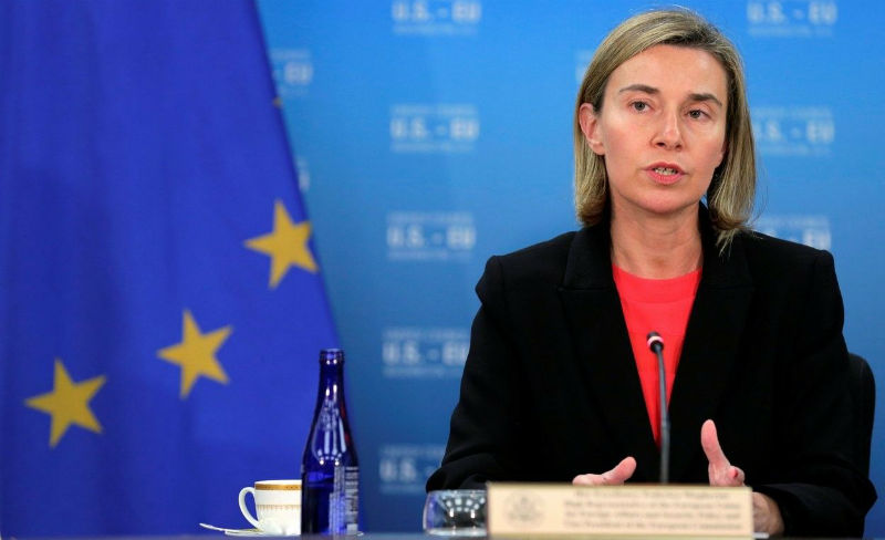 Federica Mogherini, High Representative of the European Union for Foreign Affairs and Security Policy/Vice-President of the European Commission. Photo: REUTERS
