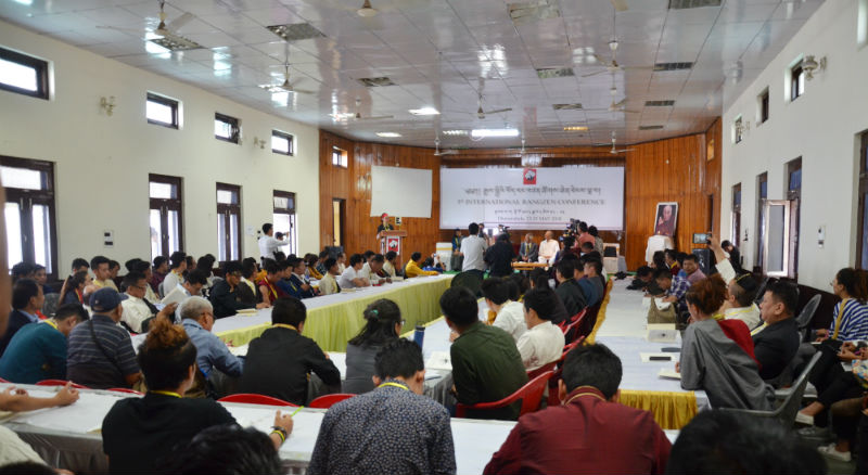 The opening day of the Fifth International Rangzen Conference held in Dharamshala, India for three days, began May 23, 2018. Photo: TPI/Tenzin Chodak
