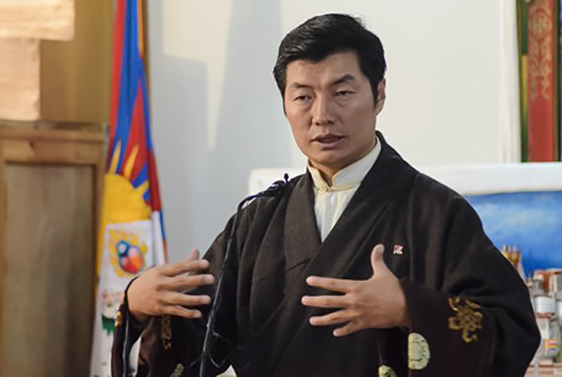 Dr Lobsang Sangay, the President of the Central Tibetan Administration, Dharamshala, India. Photo: TPI file