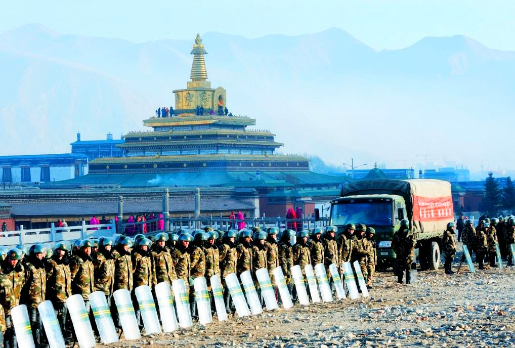 The ongoing military occupation in eastern Tibet by the totalitarian communist regime in China. Photo: TPI/File