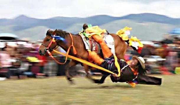 Lithang horse racing festival in 2018. Photo: File