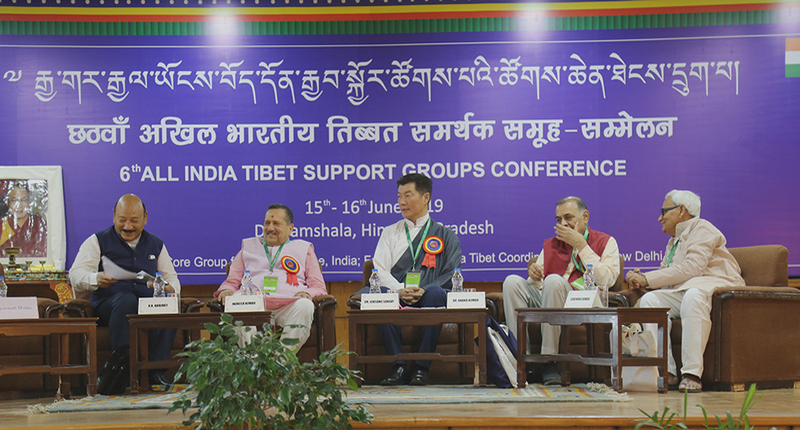 Attended by 216 representatives from 21 Indian states, the 6th All India Tibet Support Groups Conference held on June 15-16, 2019, in Dharamshala, India. Photo: Pasang Dhondup/CTA