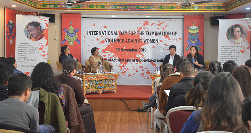 Tibetan Centre for Human Rights and Democracy held a press conference in Dharamshala, India, on November 26, 019. Photo: TPI/Yangchen Dolma