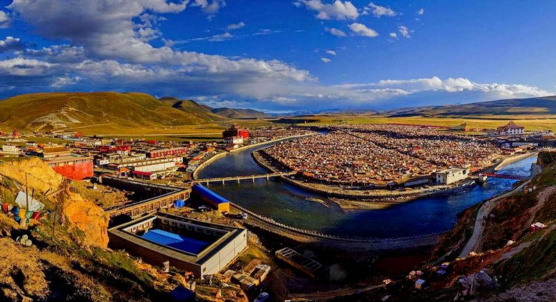 China has reportedly carried out mass evictions at Yarchen Gar Buddhist Monastery in Kham Province of eastern Tibet. Photo: TPI/file