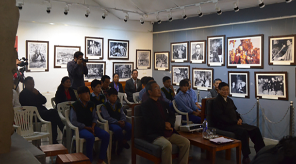 The International Museum Day was celebrated by the Tibet Museum is the official museum of the CTA in Dharamshala, India, on May 18, 2019. Photo: TPI/Dawa Tsering