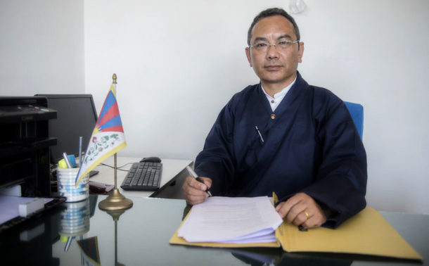 Information Secretary of DIIR, Tsewang Gyalpo Arya, in Dharamshala, India, May 3, 2019. Photo/Tenzin Jigme/CTA