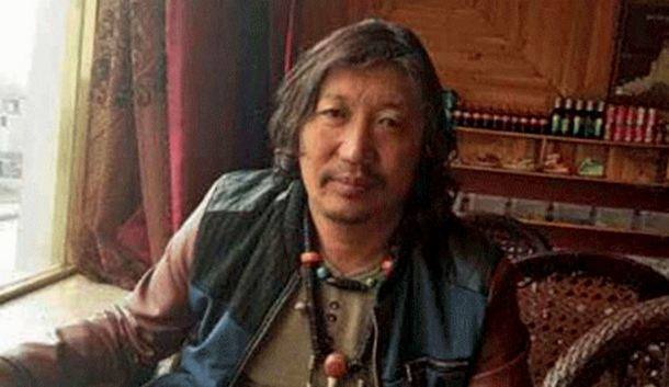 A-Nya Sendgra, a nomad, community leader and environmental activist from eastern Tibet. Photo: Free Tibet