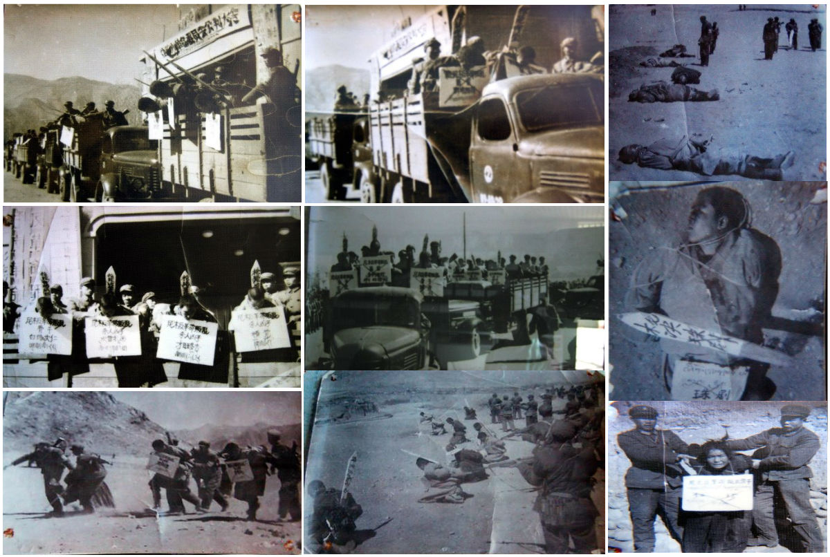 Genocide in the 20th Century: Massacres in Tibet: 1966-76. Photo: Files