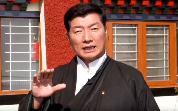Sikyong sends an open message to the Tibetans inside Tibet to be cautious against Coronavirus
