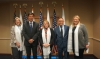 CTA President Dr Lobsang Sangay with high-level representatives of the United States Agency for International Development (USAID). Photo: OOT, Washington DC