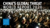 China's Global Threat to Human Rights. Photo: HRW