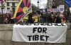 Over a hundred Tibetans and Tibet supporters marched through the streets of central London on March 10, 2020 to mark 61 years since the 1959 uprising and protest Beijing's ongoing occupation of Tibet. Photo: TPI