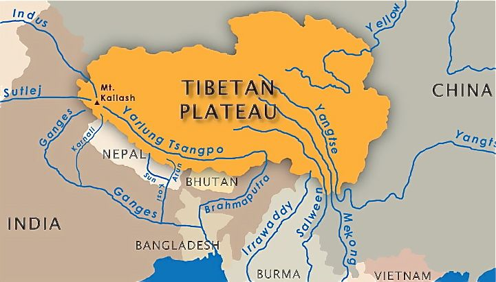 Tibetan Rivers. Photo: File