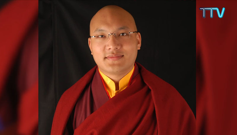 His Eminence the 17th Karmapa Rinpoche.  Photo: screenshot from TTV