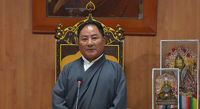 Pema Jungney, Speaker of the Tibetan Parliament-in-Exile.  Photo: TPI