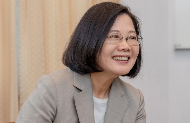 Taiwan's President Tsai Ing-wen secured 57 percent of the popular vote with a record-breaking 8.2 million ballots, 1.3 million more than her 2016 victory. Photo: File