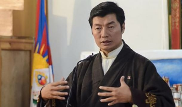 Dr Lobsang Sangay, President of Central Tibetan Administration previously known the Government of Tibet. Photo: TPI/Yeshe Choesang