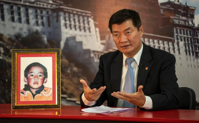 Dr Lobsang Sangay President of Central Tibetan Administration rejects China's latest claims on the Panchen Lama. Photo: DIIR/CTA