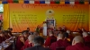 Prof Samdhong Rinpoche graced, as invited, the opening ceremony of the fourth general meeting of Kirti Charitable Society, Dharamshala, India, on May 7, 2019. Photo: TPI/Kalsang Choedon